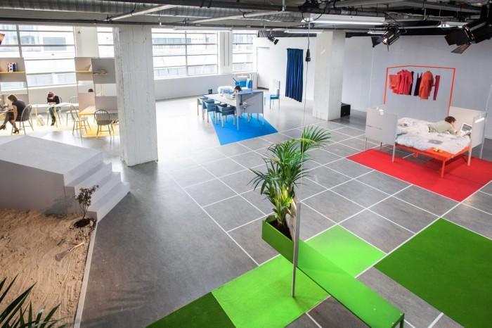 Chiêm ngưỡng nội thất văn phòng cực kỳ độc đáo ở Hà Lan